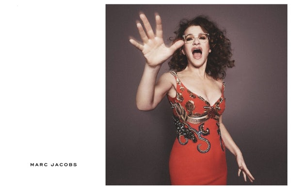 Sandra Bernhard stars in Marc Jacobs' spring 2016 campaign | Source: Marc Jacobs