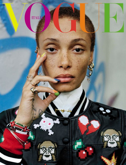 December 2015 cover shot by Tim Walker | Source: Vogue Italia