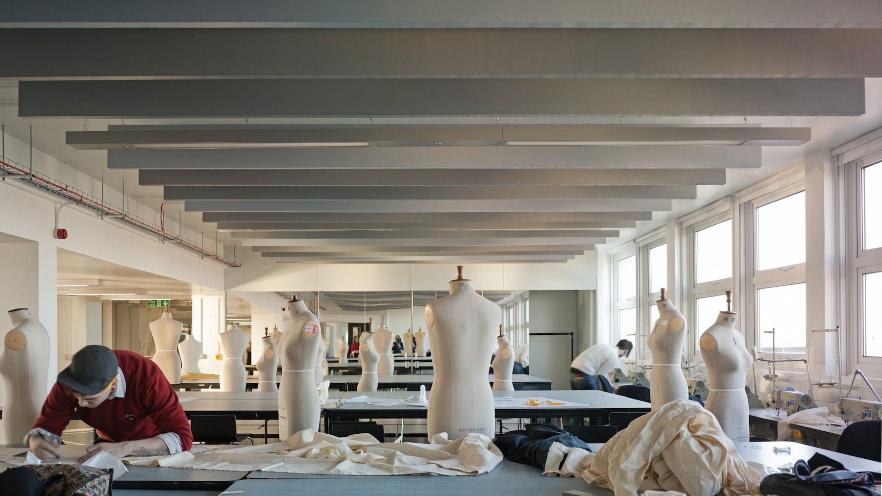 University of Westminster Fashion Studio | Source: Courtesy