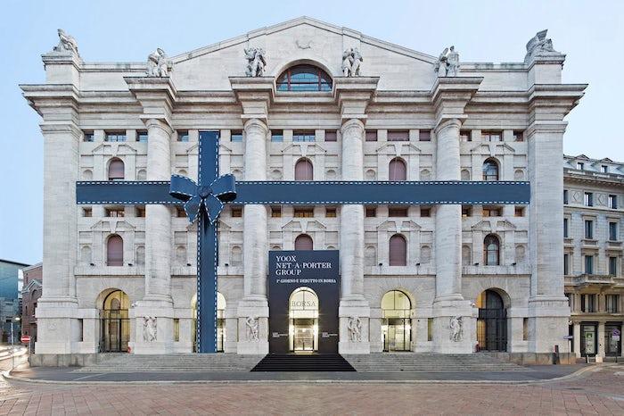 Yoox Net-a-Porter Group debuts on the Borsa Italiana, 5 October 2015 | Source: YNAP