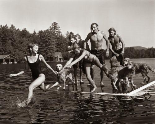 Bruce Weber为美国版《Vogue》拍摄的大片   图片来源:对方提供