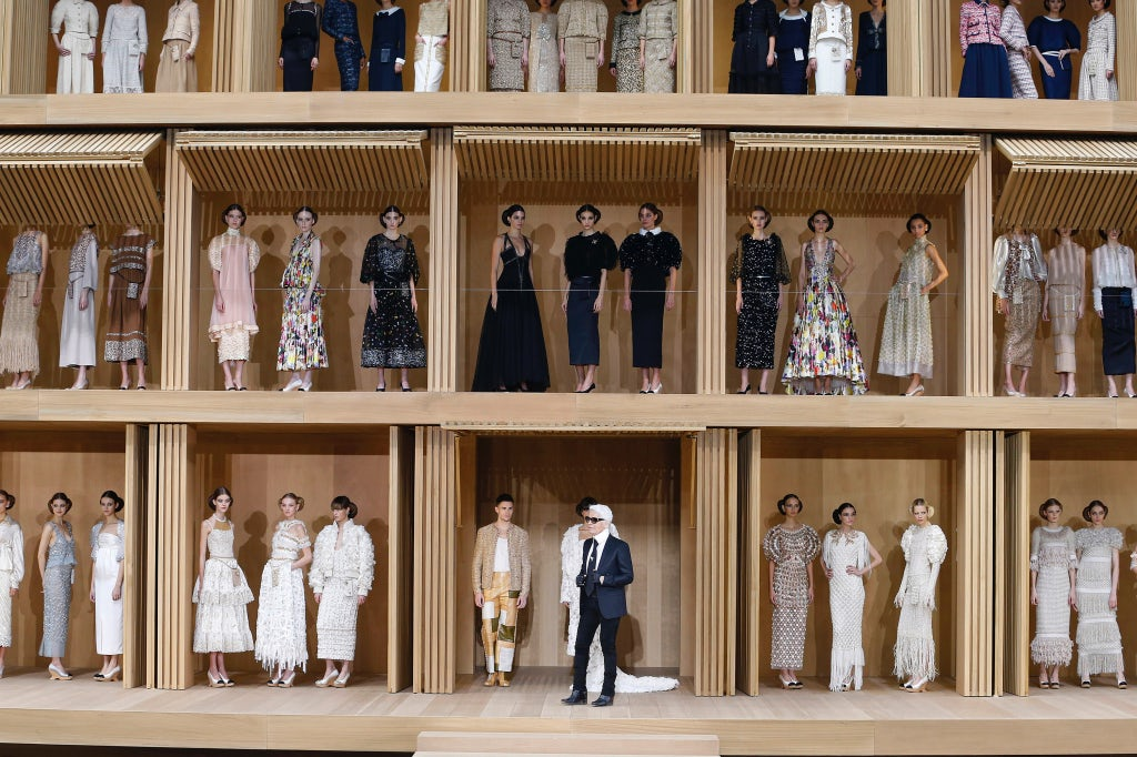 Chanel Haute Couture Spring/Summer 2016 | Source: InDigital.tv