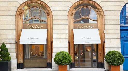 a054c240957 Richemont-owned Cartier store