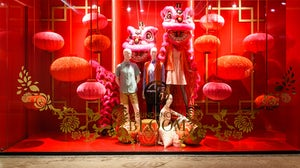 Chinese Lunar New Year window display | Source: Shutterstock
