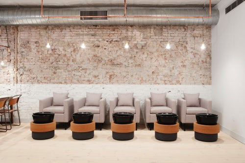 Inside Tenoverten's Fulton Street salon | Source: Courtesy