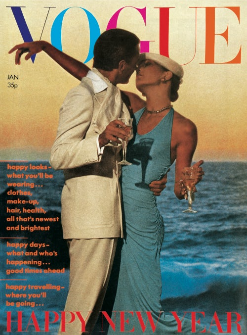 January 1974 cover by David Bailey | Source: Condé Nast