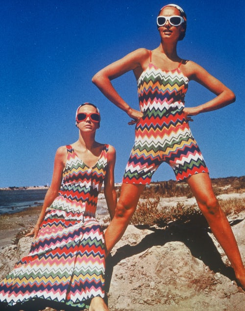 Missoni in Grazia in 1968 | Source: Courtesy