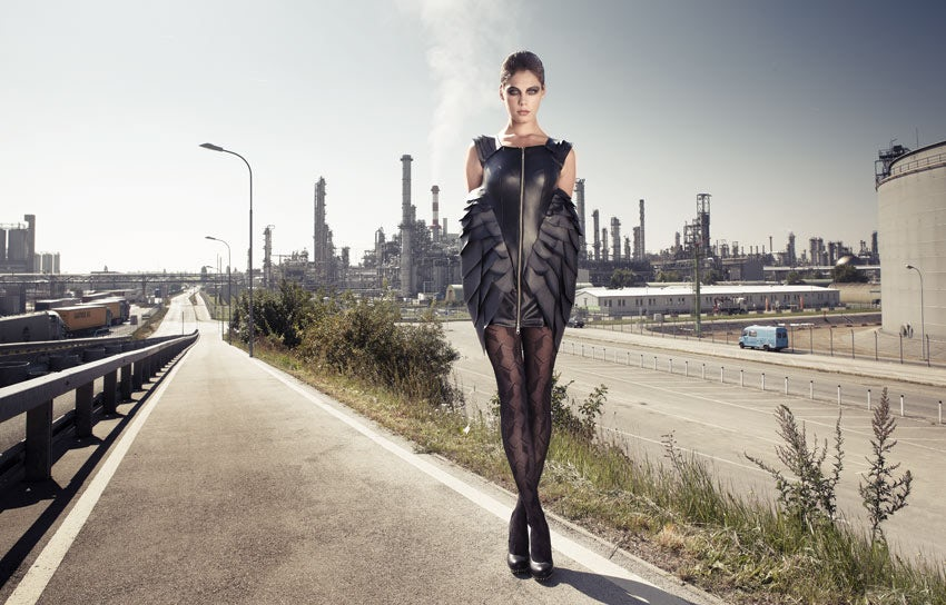 Petroleum Collection by Doychinoff outside an oil refinery   Photo: Mladen Plenev