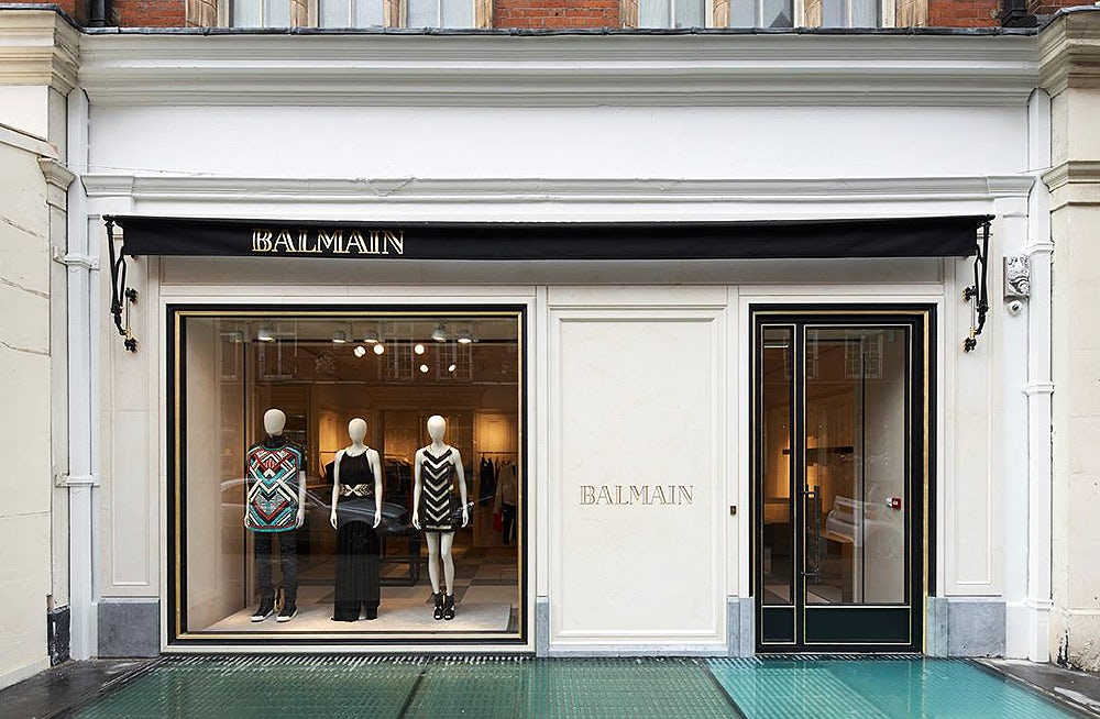 Balmain flagship store in London | Source: Balmain