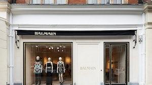 Balmain flagship store in London | Source: Balmain