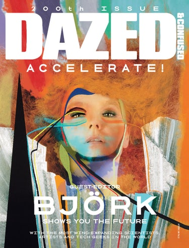 Bjork on the cover of Dazed and Confused magazien | Source: Courtesy