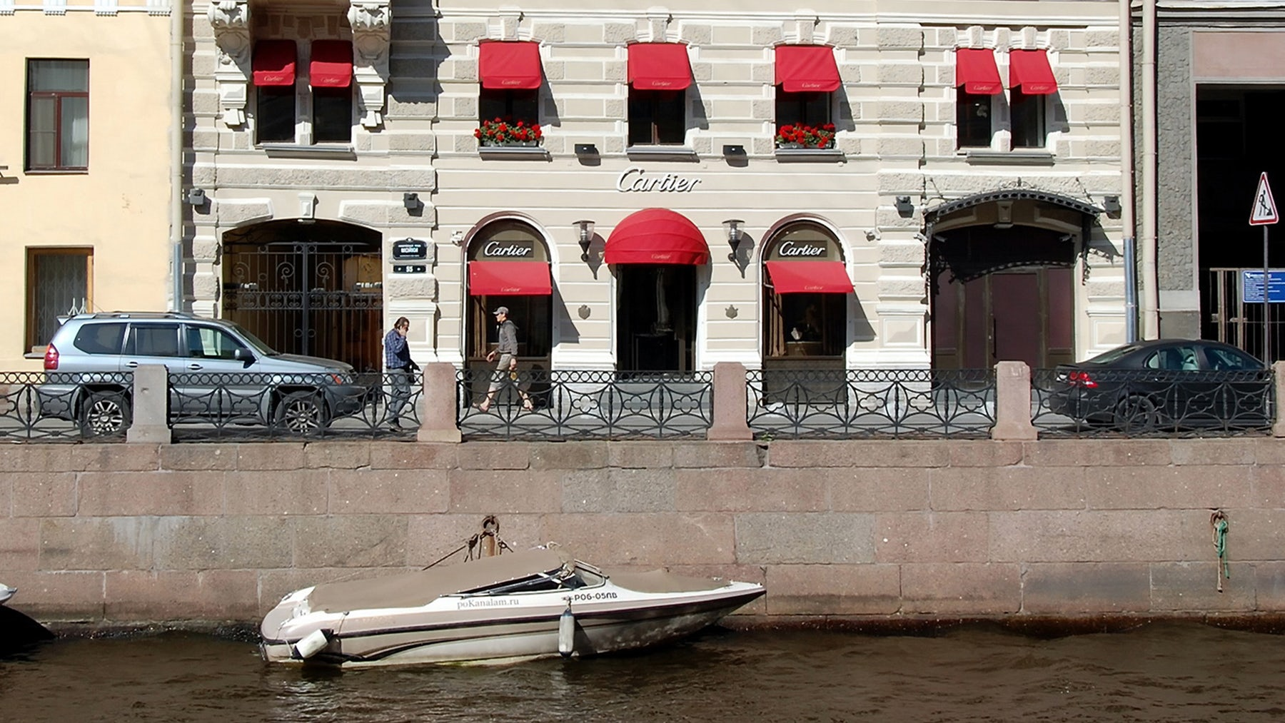 Cartier boutique on the Moyka river in Russia | Source: Shutterstock