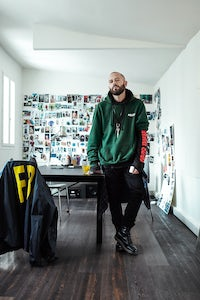 Demna Gvasalia | Photo: Willy Vanderperre for BoF