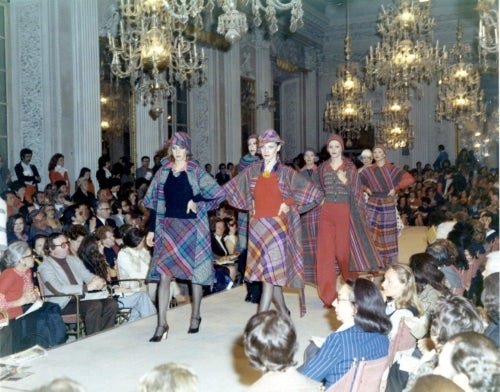 A Missoni presentation in 1972 | Source: Courtesy
