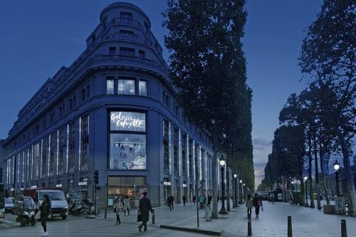 The future Galeries Lafayette Champs-Élysées | Source: Galeries Lafayette