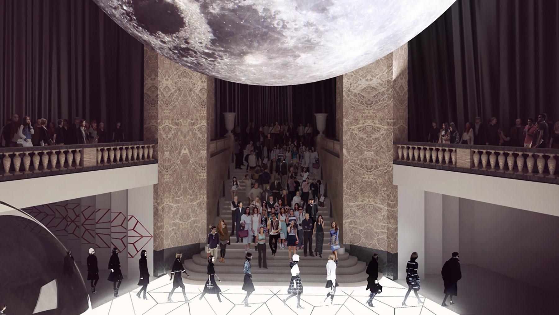 The inside of the future Galeries Lafayette Champs-Élysées | Source: Galeries Lafayette