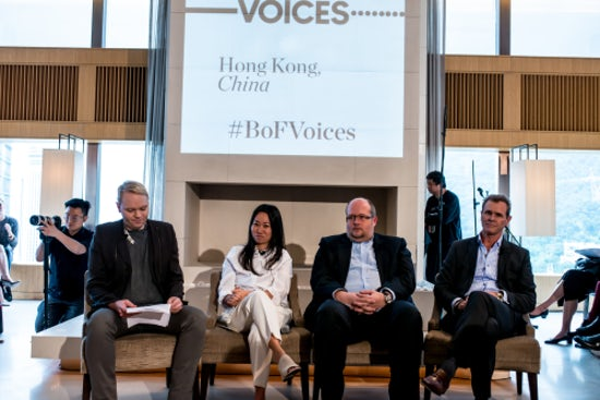 BoF and fashion industry leaders explore the future of the Chinese market at BoF VOICES x Hong Kong event in December 2015.