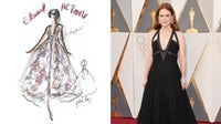 Julianne Moore wears custom-designed Chanel to attend the 88th Academy Awards | Source: Courtesy/Getty Images