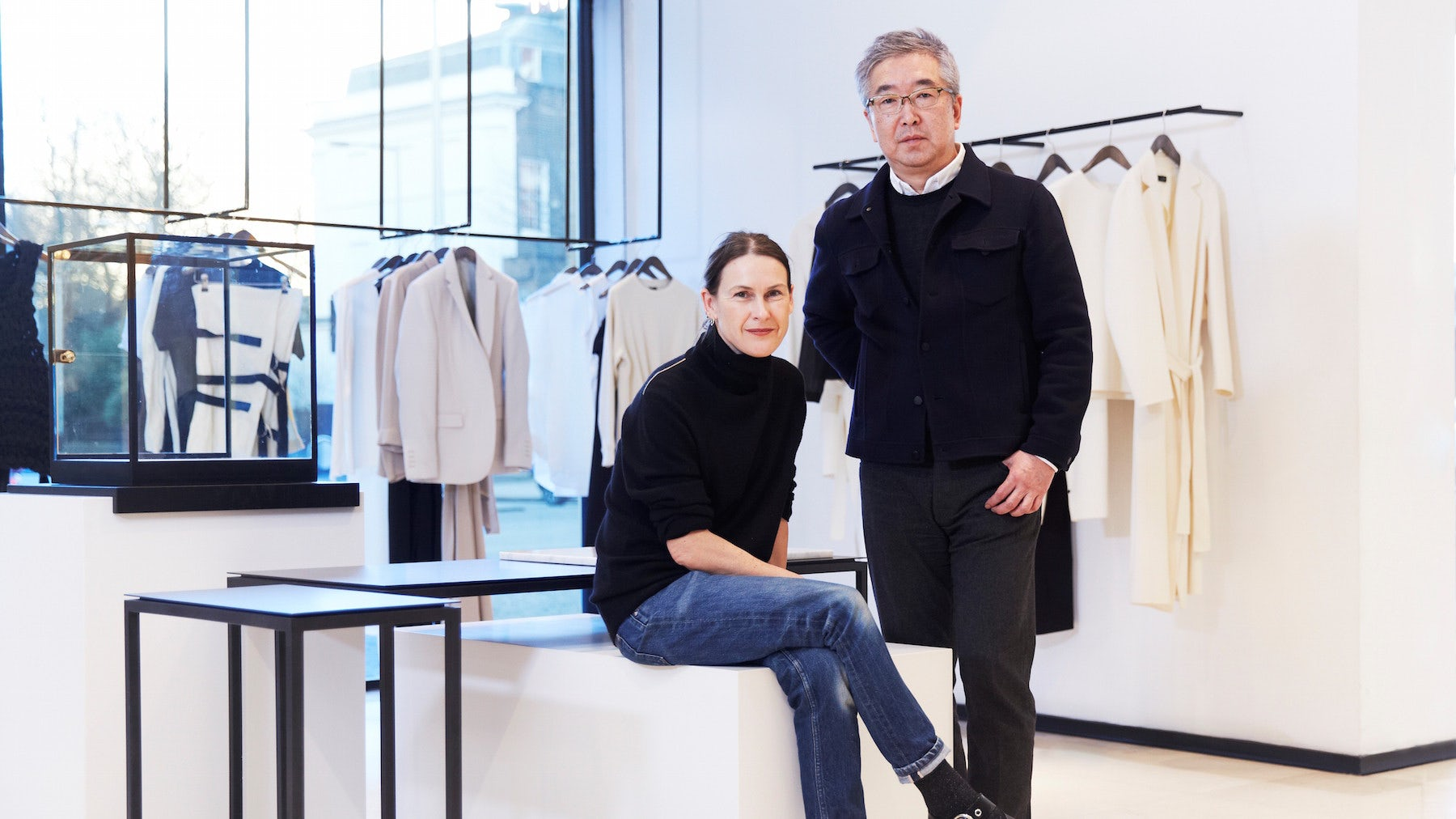 Louise Trotter and Takehiro Shiraishi of Joseph | Source: Courtesy