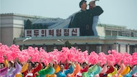 North Korea's armistice anniversary parade on Kim Il-Sung square | Source: Getty