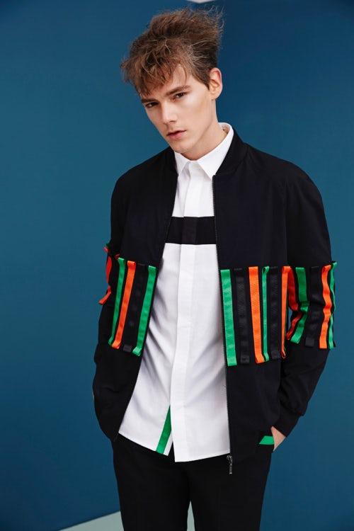 Alexander T Zhao Spring/Summer 2016 Menswear | Source: Alexander T Zhao