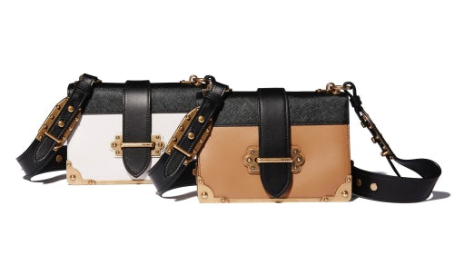 Prada Cahier bags | Source: Courtesy