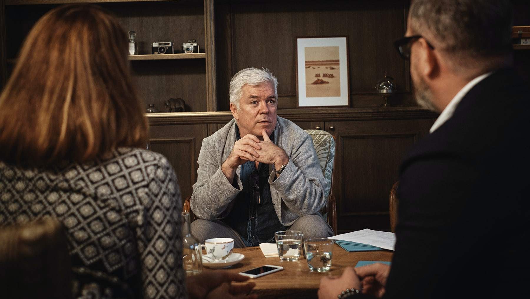 BoF's Tim Blanks chairs a discussion on the flaws of the current fashion system | Photo: Mark Sanders for BoF