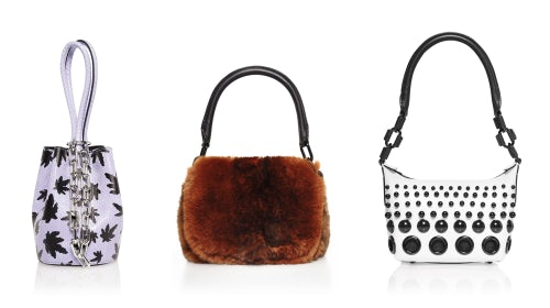Alexander Wang Autumn/Winter 2016 handbags | Source: Courtesy