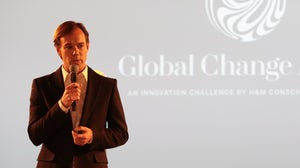 Karl-Johan Persson, CEO of H&M, at the Global Change Award 2015 | Source: Courtesy