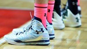 Under Armour basketball sneakers | Source:  Shutterstock