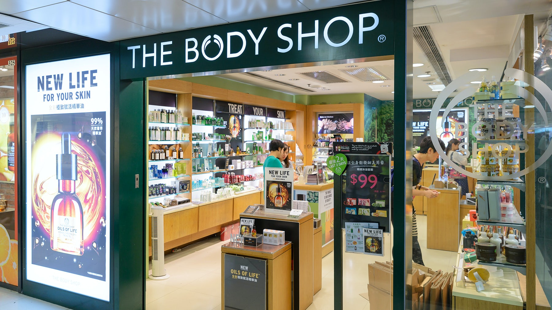 l'oreal takes over the body shop