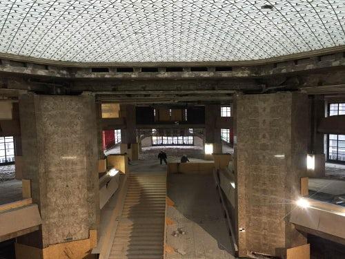 Work in progress at Galeries Lafayette | Source: Galeries Lafayette