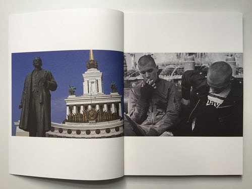 Inside Gosha Rubchinskiy's latest book, 'Youth Hotel' (2015) | Source: Courtesy IDEA Books