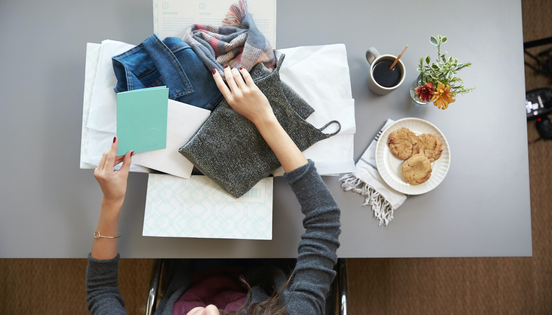StitchFix sends customers boxes of clothes selected using a combination of personal stylists and algorithms | Source: StitchFix