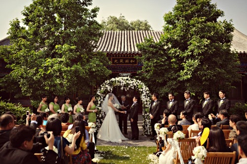 A Chinese wedding organised by Weddings by Ling | Source: Weddings by Ling