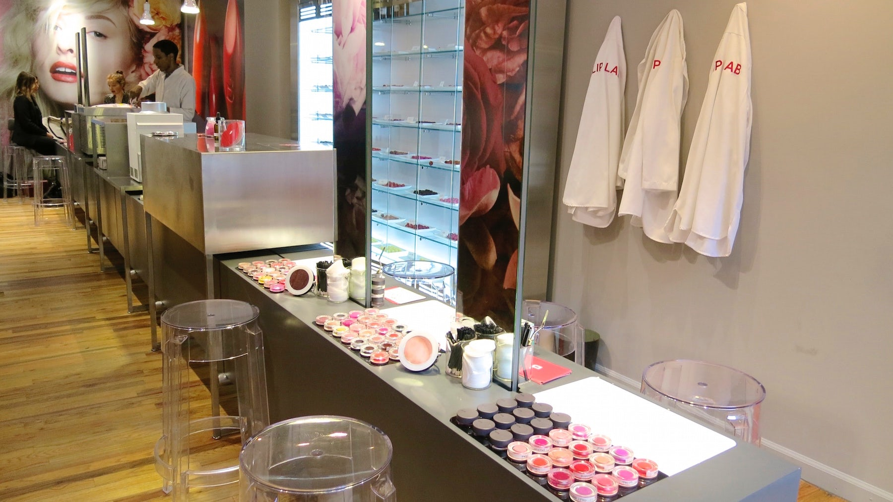 Inside Bite Beauty's lab in New York, where shoppers can create their own lipstick shades | Source: Courtesy