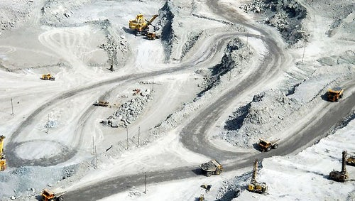 Alrosa mining operations | Source: Alrosa