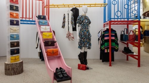 The JW Anderson space in the new Dover Street Market store on London's Haymarket | Source: Courtesy
