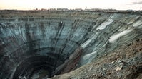 Diamond mine in Northern Russia | Source: Shutterstsock
