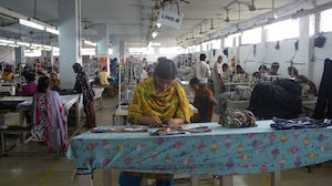 Garment factory, Bangladesh | Photo: Tareq Salahuddin/Wikimedia Commons