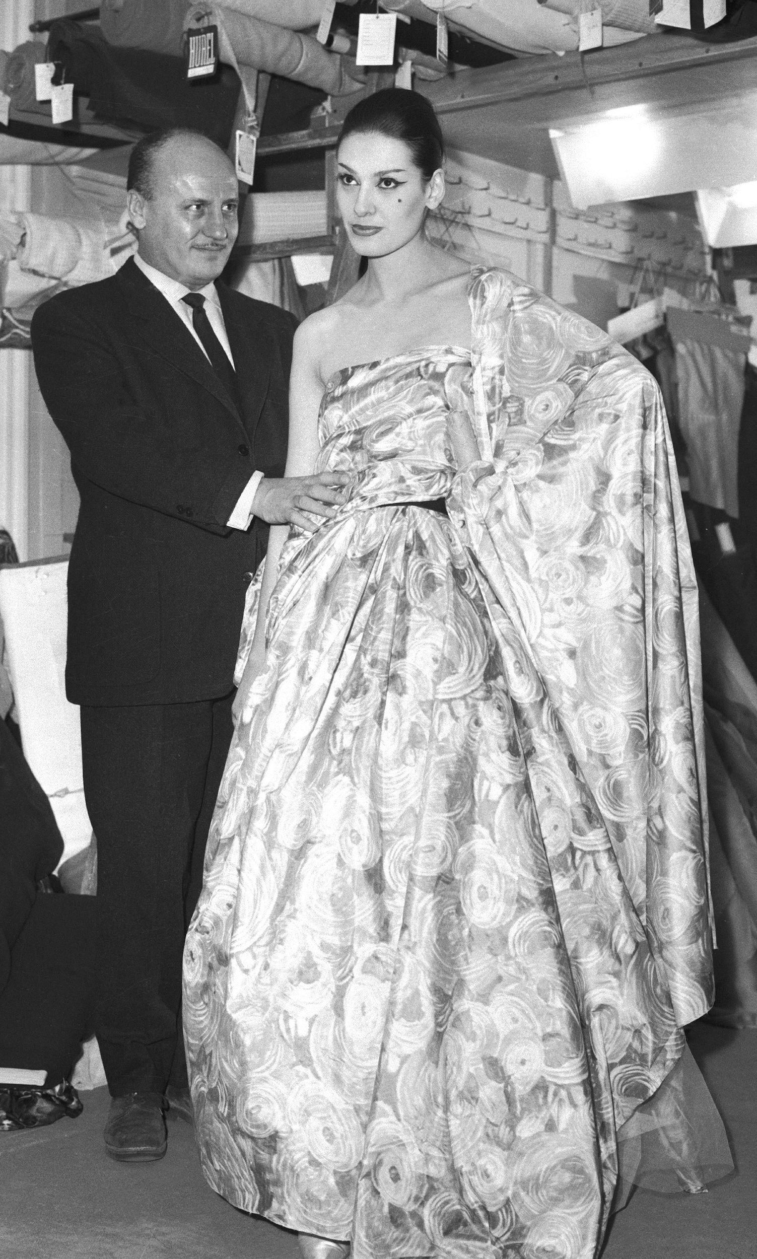 Pierre Balmain in 1961 | Source: BoF