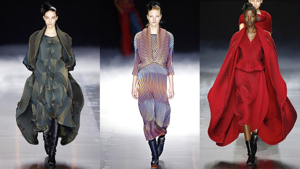 Issey Miyake Autumn/Winter 2016 | Source: InDigital.tv