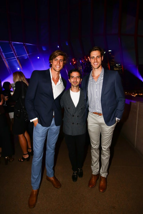 Zac Stenmark, Imran Amed and Jordan Stenmark | Photo: Getty