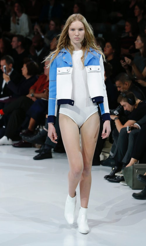 Courrèges Spring/Summer 2016 show | Source: Courtesy