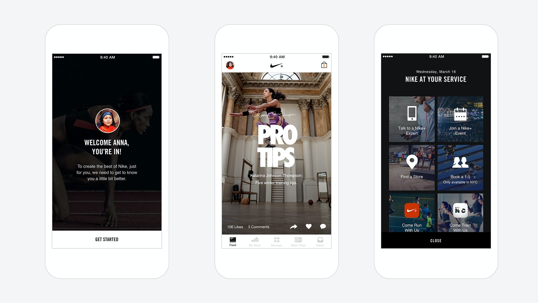 The Nike Plus App | Source: Courtesy