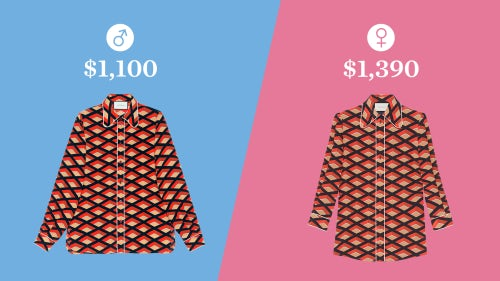 Gucci's rhombus shirt for men and women | Illustration: Paul Price