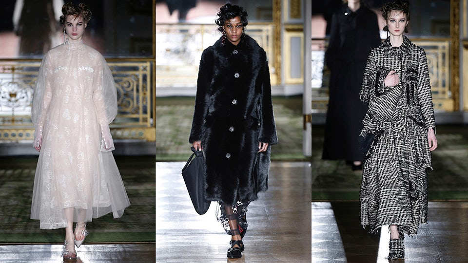 Simone Rocha Autumn/Winter 2016 | Source: InDigital.tv