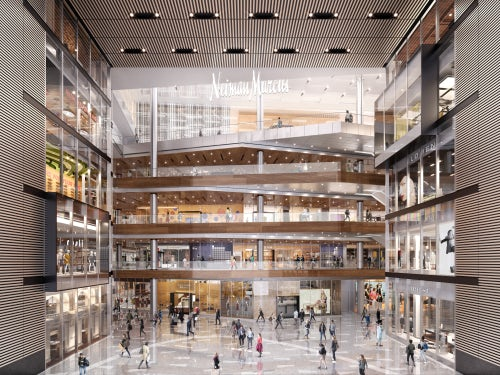 A rendering of Neiman Marcus at Hudson Yards | Source: Courtesy