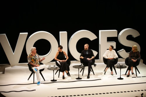 Tim Blanks and panelists speak about Going Global