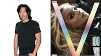 Stephen Gan, Britney Spears on the cover of V magazine's 100th issue, V100 | Source: Courtesy